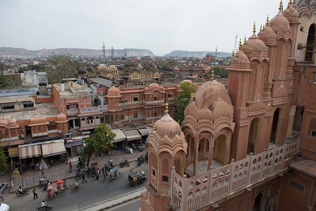 Voyage en Inde : passer par la capitale du Rajasthan, la ville de Jaipur